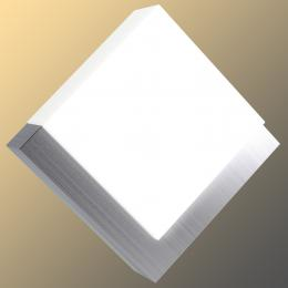 led outdoor wall or soffit light stainless steel